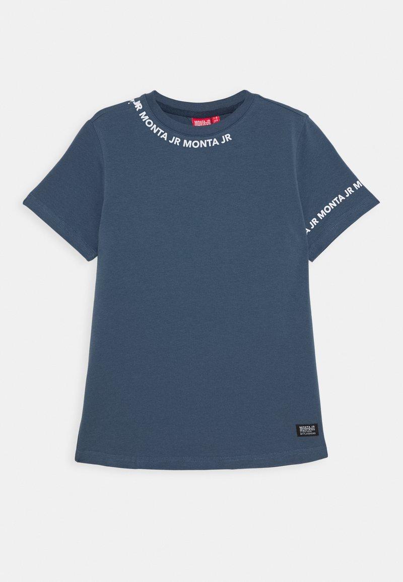 Monta Juniors - TARAZ - T-shirts med print - steel blue