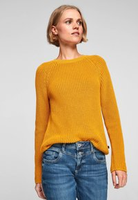 QS by s.Oliver - Jumper - yellow - 0