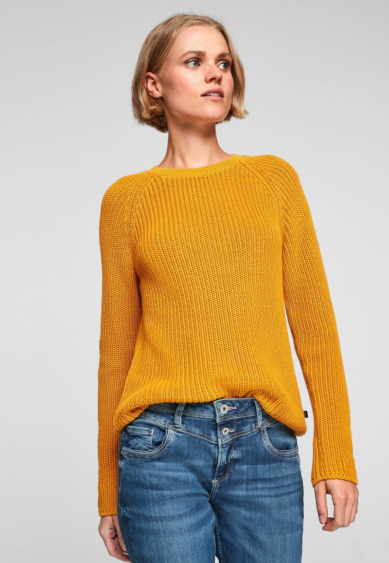 QS by s.Oliver - Jumper - yellow