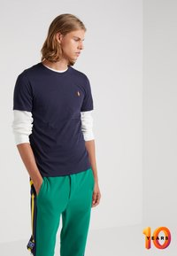 Polo Ralph Lauren - T-shirt basic - ink/orange - 0