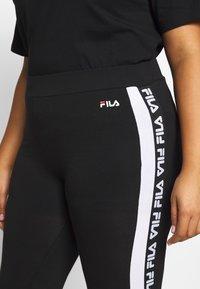 Fila Plus - TASYA - Leggings - black/bright white - 5