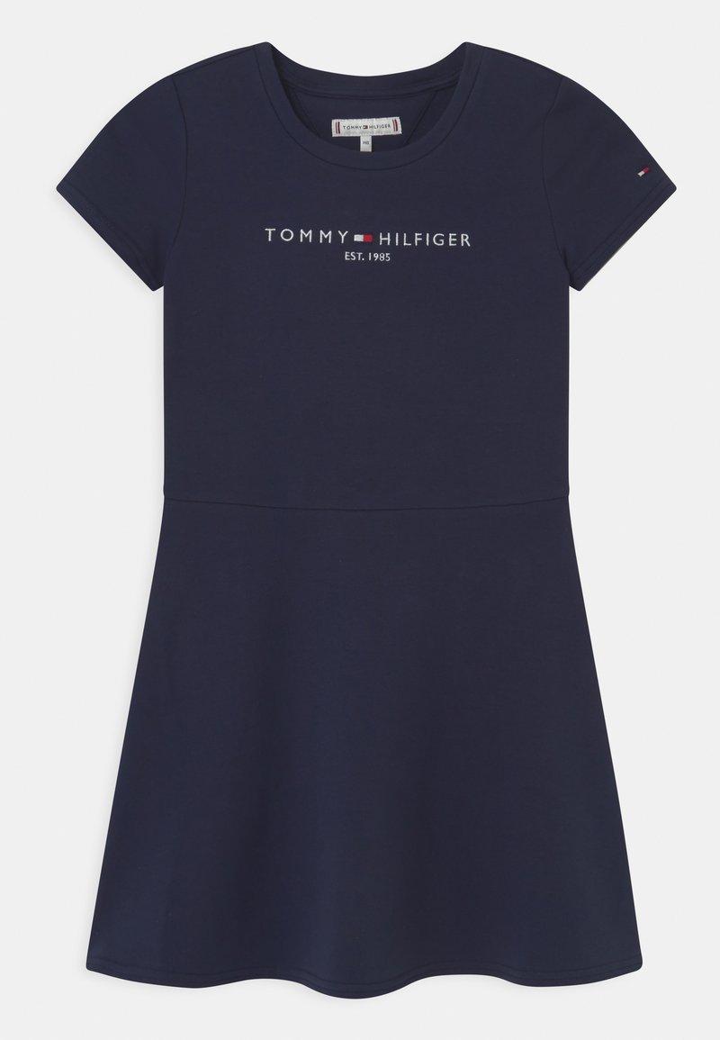 Tommy Hilfiger - ESSENTIAL SKATER  - Denní šaty - twilight navy