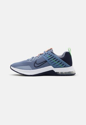 AIR MAX ALPHA TRAINER 3 - Sportovní boty - ashen slate/blackened blue/white/electric green/bright mango