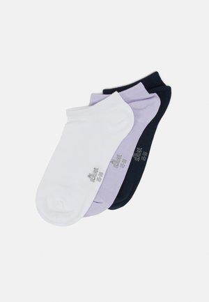 ONLINE WOMEN SILKY TOUCH SNEAKER 5 PACK - Socks - purple heather