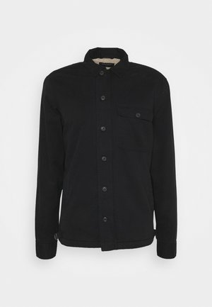 DECK OVERSHIRT - Skjorta - jet black