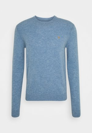 ROSECROFT WITH BADGES - Jumper - wedgewood blue