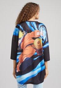 Bershka - UNISEX NATURO - Print T-shirt - black - 3