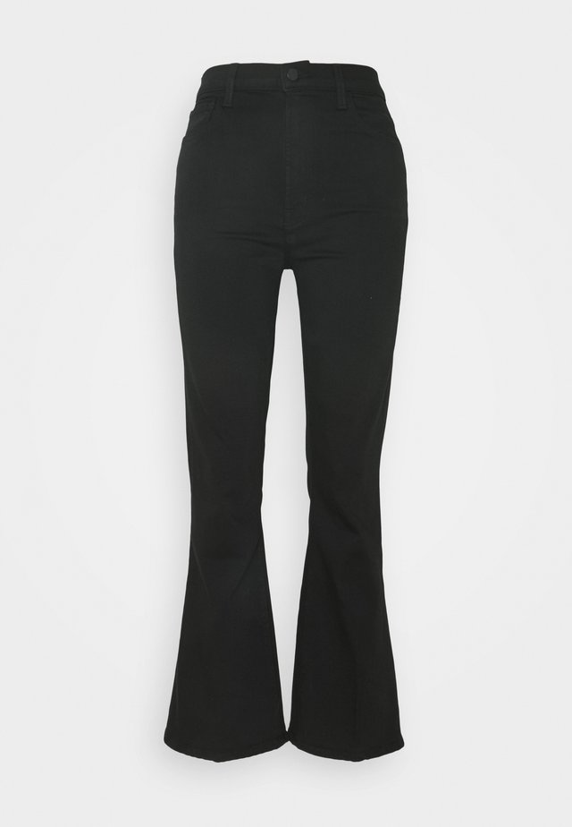 JULIA HIGH RISE - Jeans a zampa - black