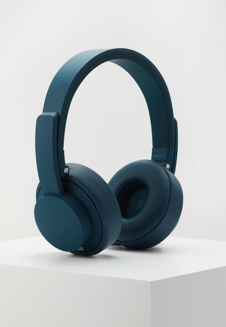 Urbanista - SEATTLE BLUETOOTH - Headphones - blue petroleum