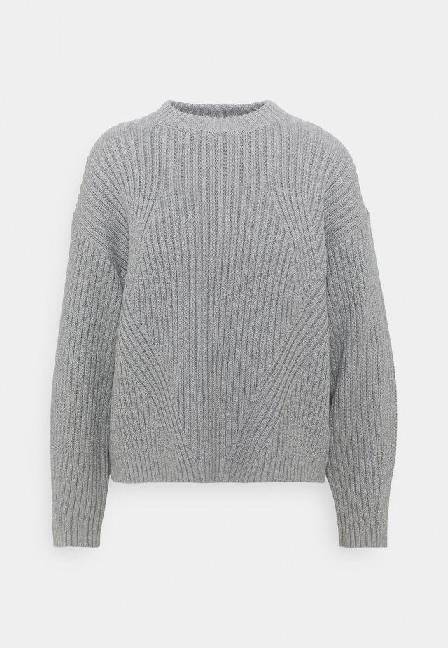 JUMPER - Sweter - grey melange