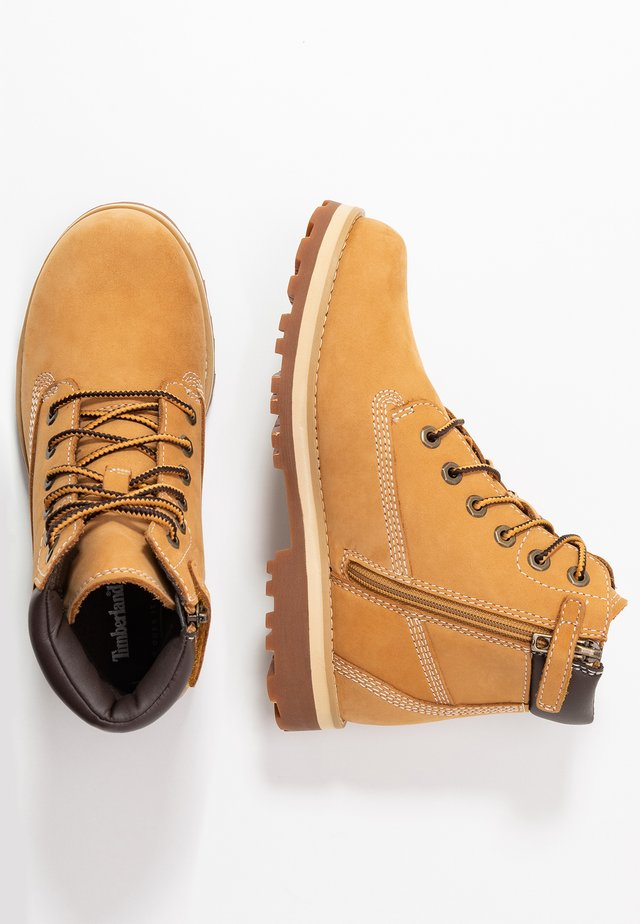 COURMA TRADITIONAL - Lace-up ankle boots - wheat