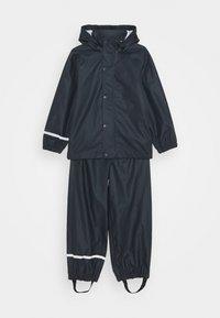 Name it - NKNDRY RAIN SET - Kalhoty do deště - dark sapphire - 0