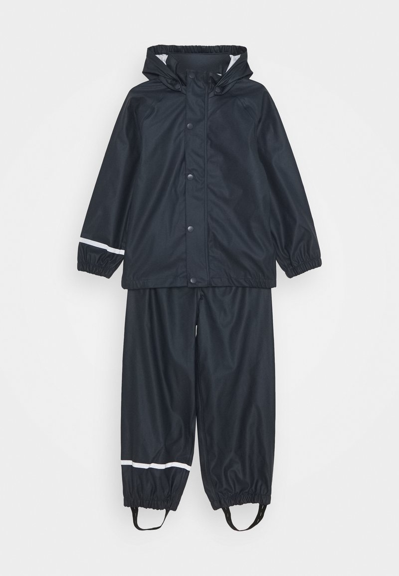 Name it - NKNDRY RAIN SET - Kalhoty do deště - dark sapphire
