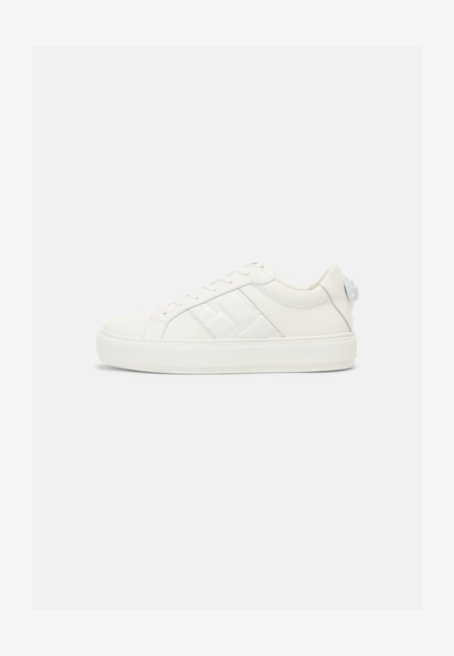 LANEY QUILT - Sneakers laag - white