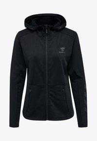 Hummel - SELBY  - Zip-up hoodie - black - 4