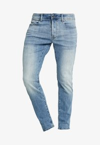 G-Star - 3301 SLIM - Slim fit jeans - elto superstretch - lt indigo aged - 4