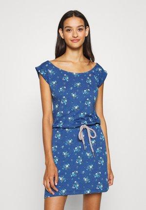 TAMY - Žerzejové šaty - blue