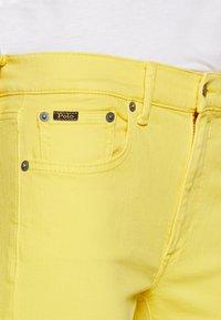 Polo Ralph Lauren - ROSELAKE - Skinny džíny - yellow - 5
