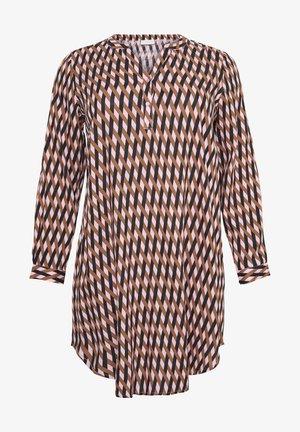 MILANA - Shirt dress - candy pink/thrush braid print