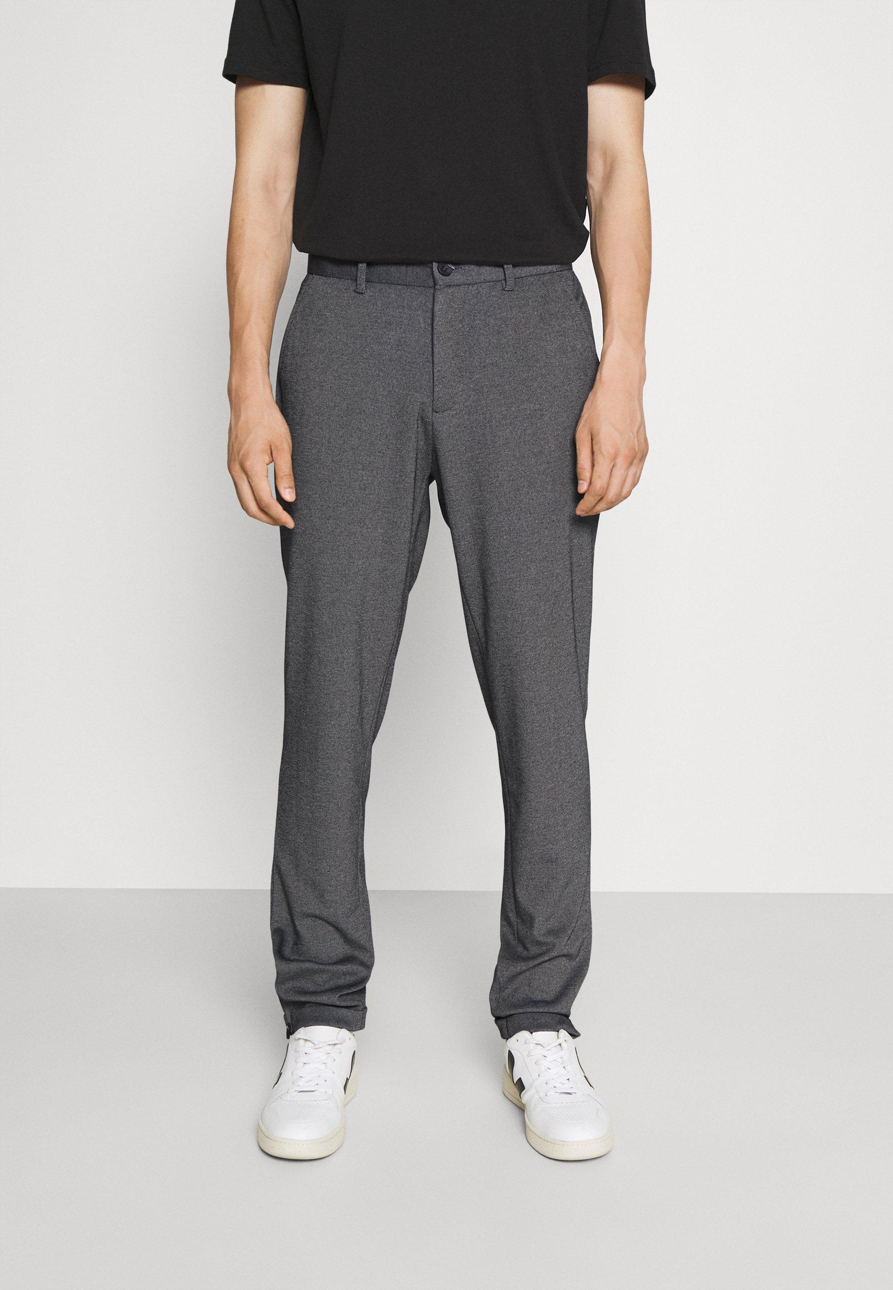 Homme PORTMANN ZIPPER PANTS - Pantalon classique