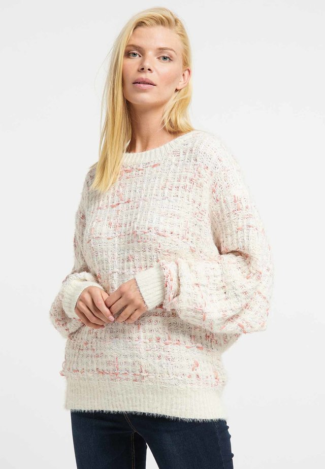 Trui - beige/pink