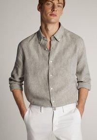 Massimo Dutti - Shirt - light grey - 0
