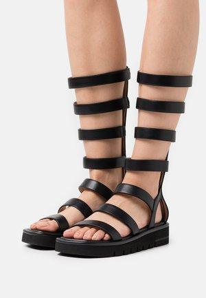 GALA LIFT TALL  - Platform sandals - black