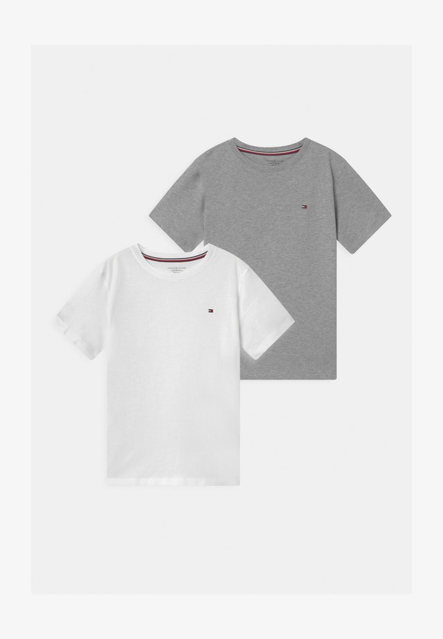2 PACK  - T-shirts basic - grey