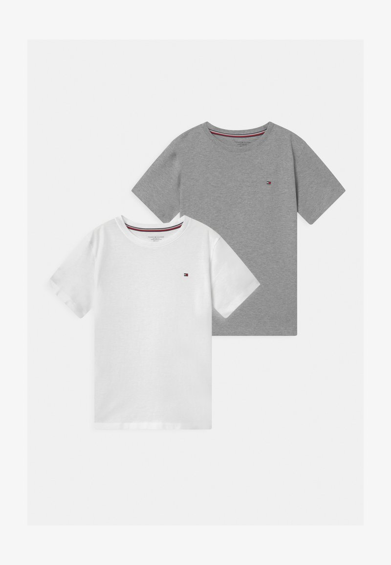 Tommy Hilfiger - 2 PACK  - T-Shirt basic - grey