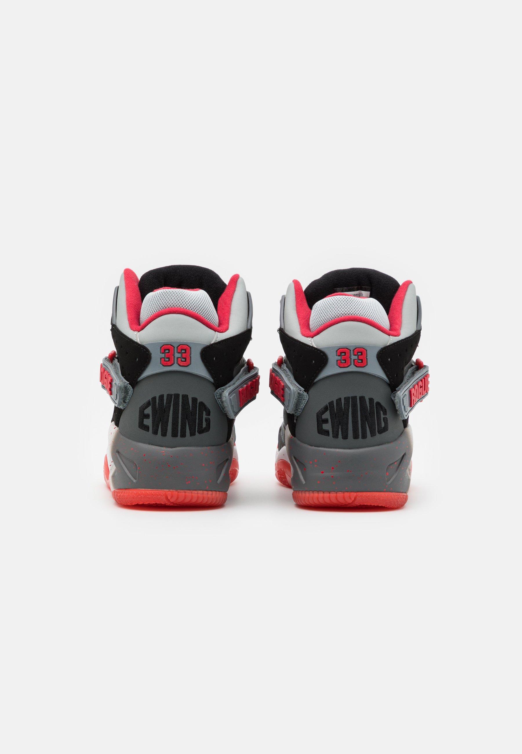 Ewing ROGUE X ONYX - Sneaker high - grey/black/red/grau - Herrenschuhe cMSLX