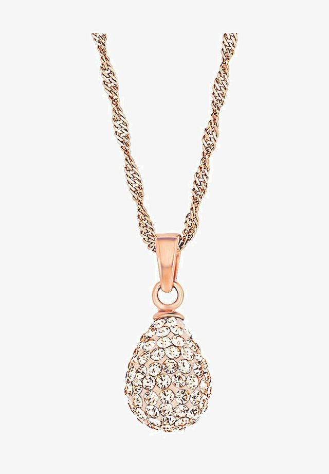 Necklace - apricot