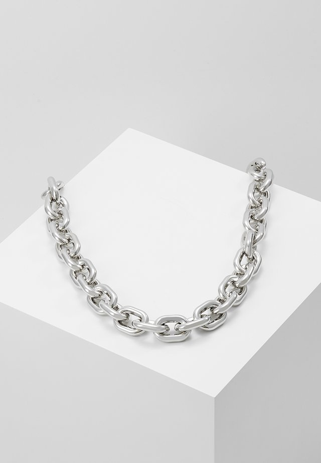 CHUNKY LINK - Náhrdelník - silver-coloured