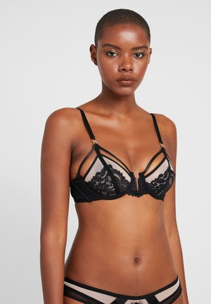 KAIA BRA - Underwired bra - rose dust/black