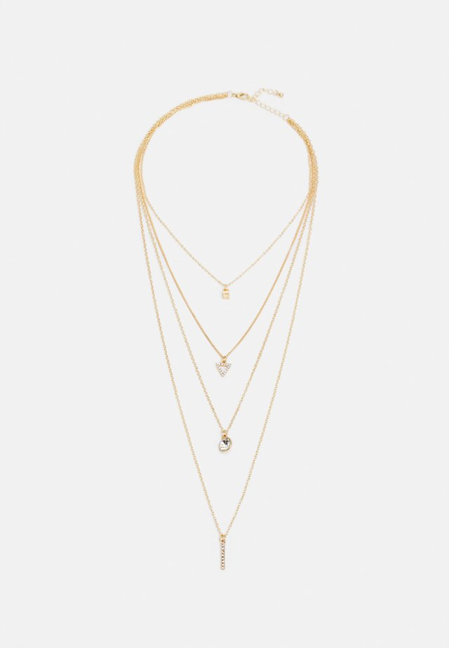 ONLELLINOR NECKLACE - Ketting - gold-coloured