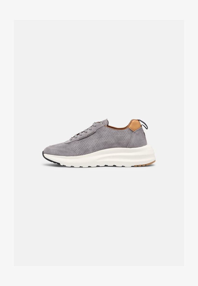 Sneakers laag - york grey ghiaia