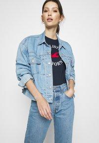 Hollister Co. - TIMELESS - Print T-shirt - navy blue - 3
