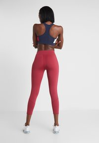 Tommy Sport - CLASSIC - Leggings - red - 2