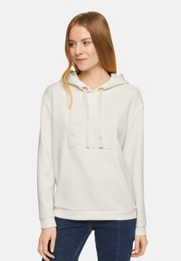 comma - Hoodie - white - 3
