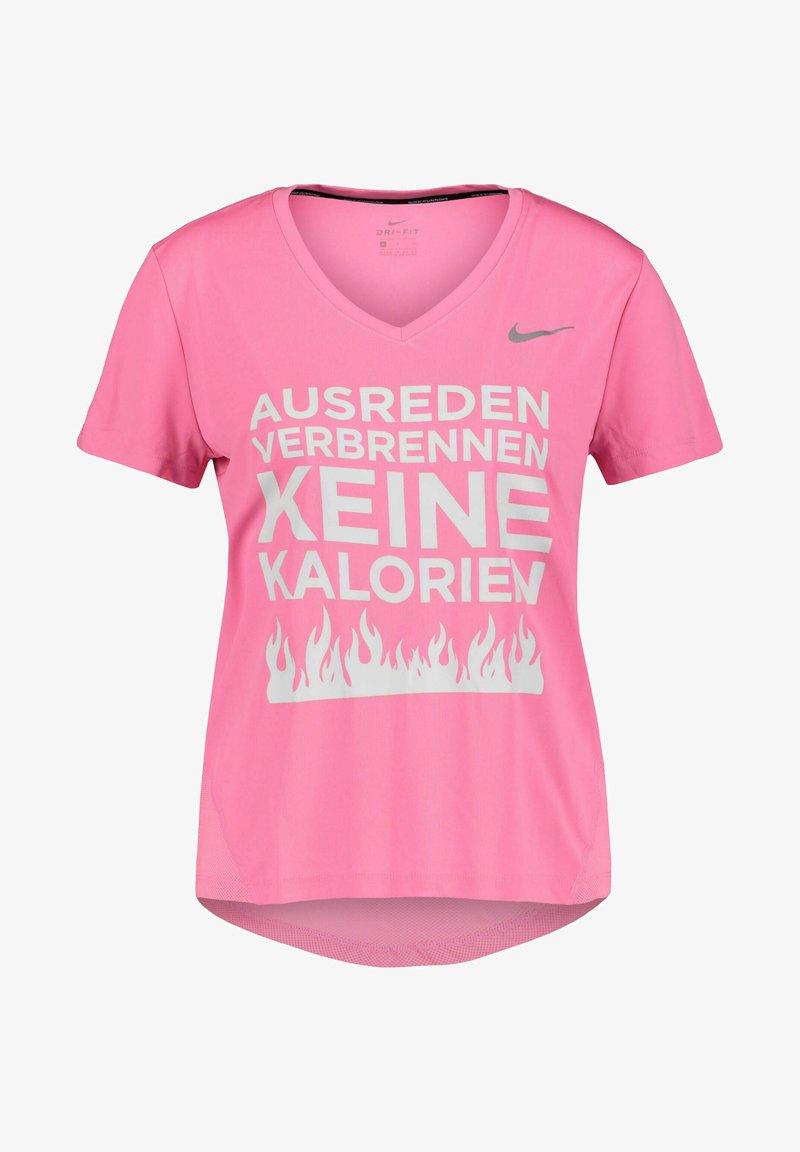 Nike Performance - Print T-shirt - pink