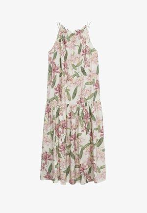 MED RYSJER - Maxi dress - ecru