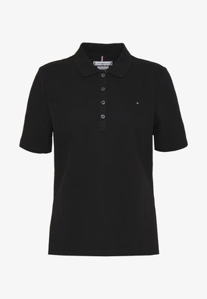 TH ESSENTIAL POLO  - Poloshirts - black