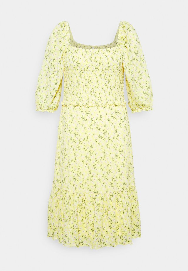 ONLPELLA SMOCK DRESS - Jerseykjole - sunshine