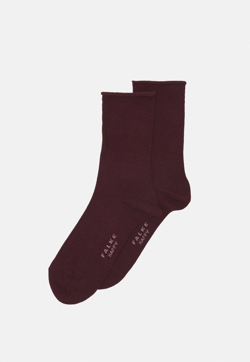 FALKE - HAPPY 2-PACK - Socks - barolo