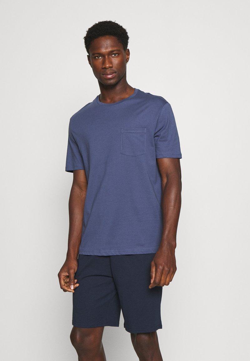 Pier One - Pyjama - blue/dark blue