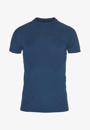 T-shirts med print - majolica blue