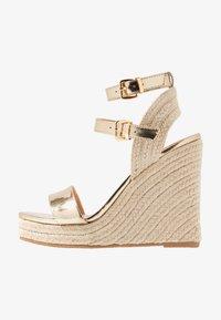 Even&Odd - Sandaler med høye hæler - gold - 1