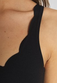 New Look - SCALLOP BODY 2 PACK - Top - black - 4