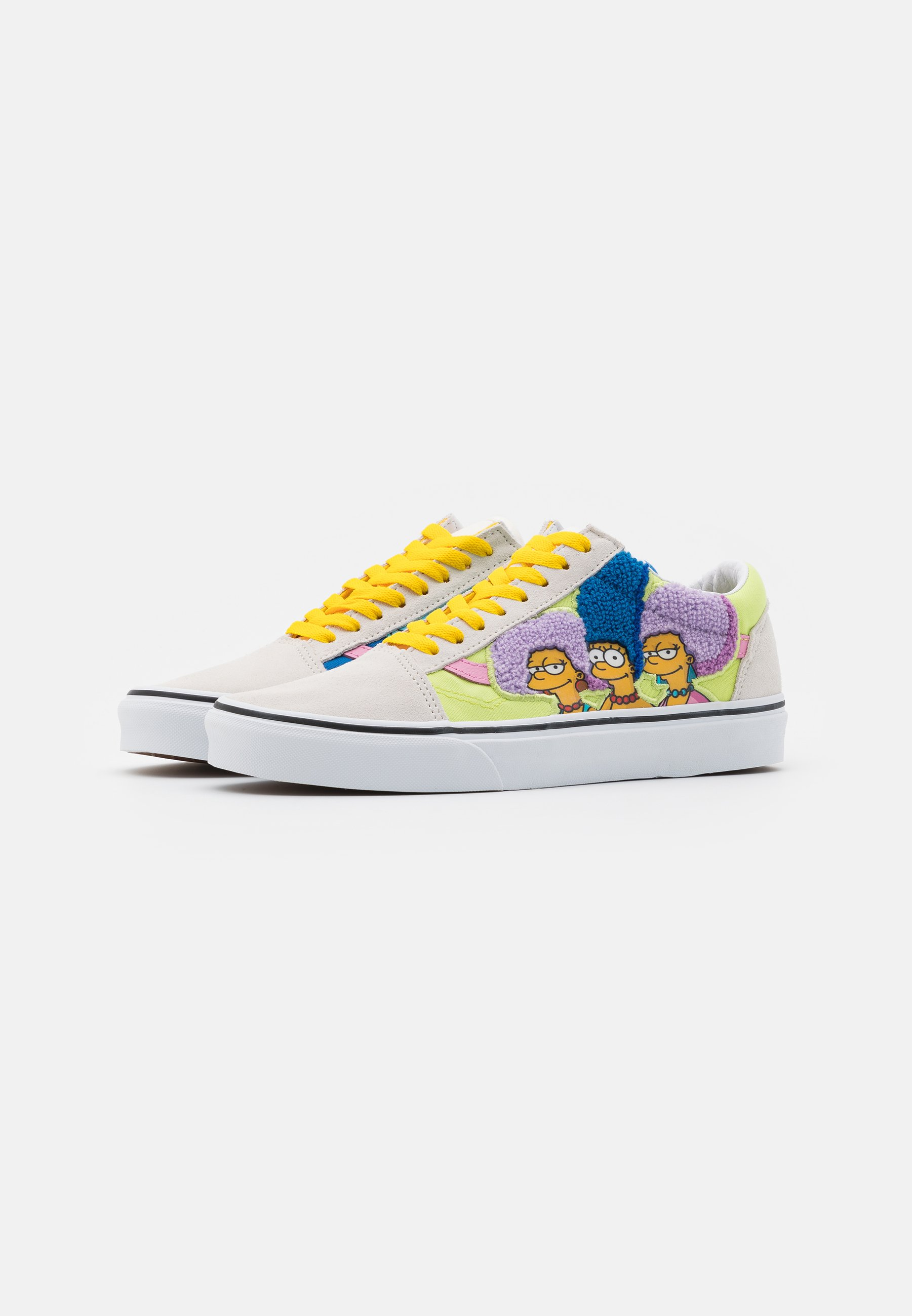 Vans Old Skool The Simpsons - Sneaker Low White/weiß