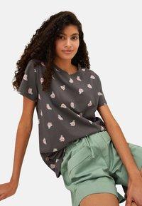 LC Waikiki - Print T-shirt - anthracite - 4