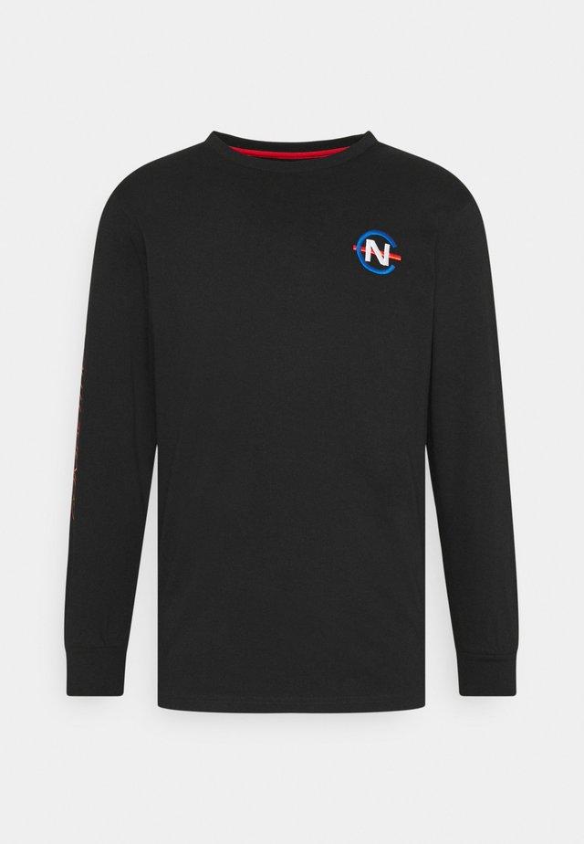 LAVEER - Langærmede T-shirts - black